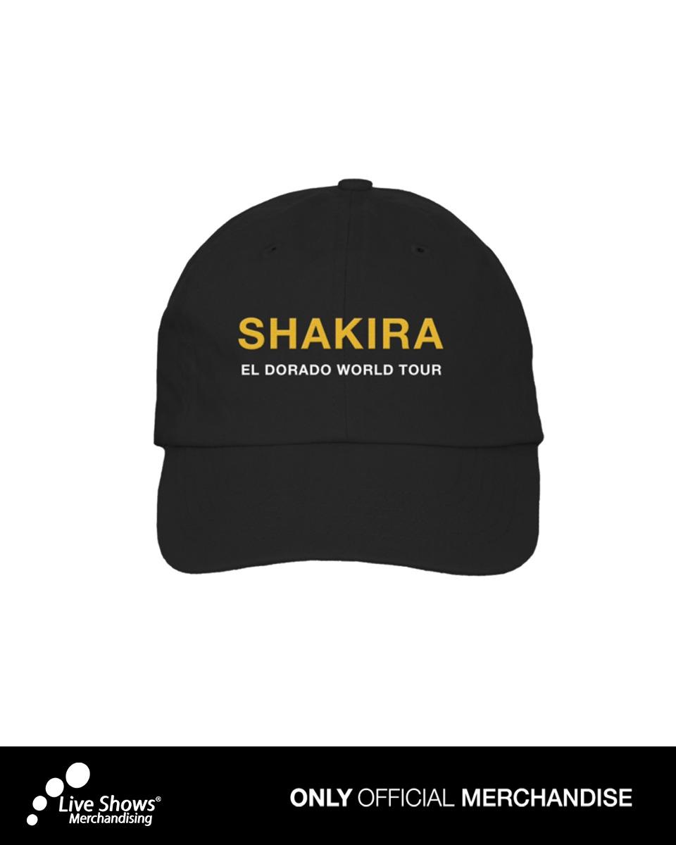 Gorra Negra SHAKIRA El Dorado