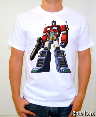 Transformers Playera Retro Classic Optimus Prime Mod. D