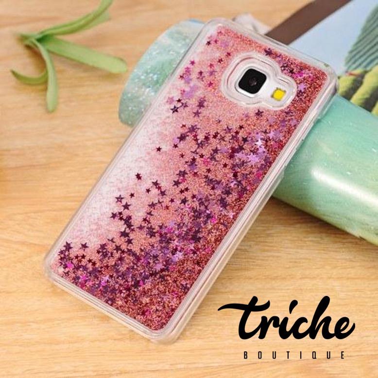 b46795bafe2 Funda Case Brillos Tipo Pecera Agua Rosa Galaxy J7 Prime | Triche