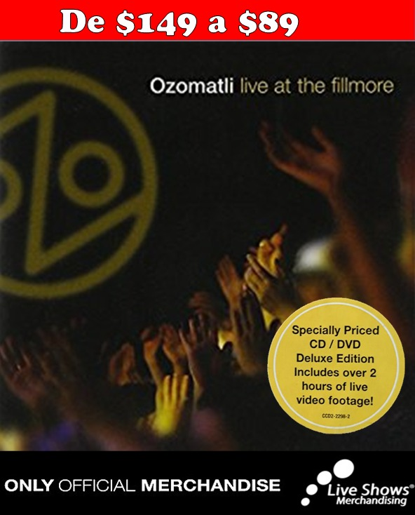 CD/DVD OZOMATLI Deluxe Edition