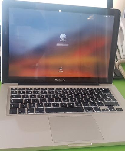 Macbook Pro De 13 Pulgadas Funcional 100%