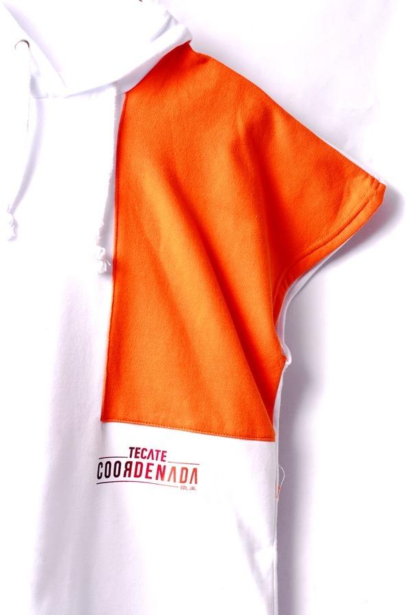 Hoodie Oficial Coordenada Orange