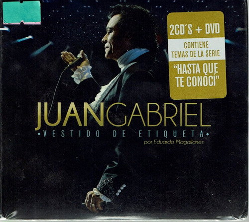Juan Gabriel Vestido De Etiqueta 2cd's + Dvd