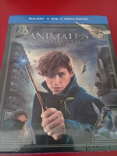 Animales Fantasticos Y Donde Encontrarlos Bluray+dvd+cd