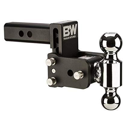 Enganche Barra 2  Drop 3  Ajustable C/2 Bolas Cromadas B&w
