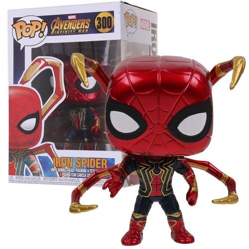 Funko Pop Avengers Infinity War Iron Spider Exclusivo Raro
