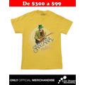 Playera Oficial CARLOS SANTANA Yellow Tee