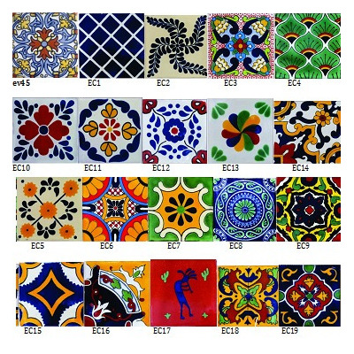 Azulejos talavera 76 en mercado libre for Azulejo de talavera mexico