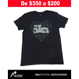 Playera Oficial THE HUMAN LEAGUE para Dama