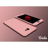 Funda 360 + Cristal Slim Colores Seria Galaxy A7 2017 A720