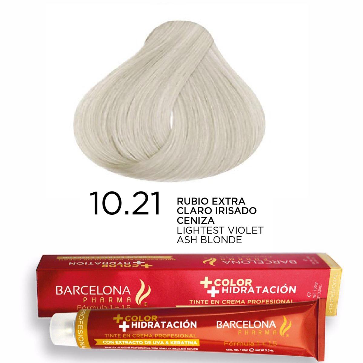 Tinte + Color Hidratación tono 10.21 Rubio Extra C...