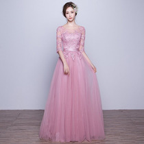 Vestidos de graduacion rosa fiusha