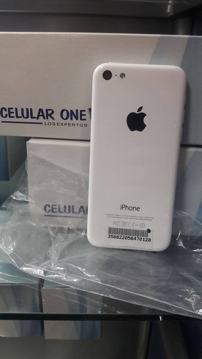 IPHONE 5C 8GB DEMO DESBLOQUEADO