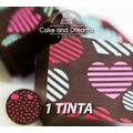 Transfer para Chocolate de San Valentín - 1 tinta ...