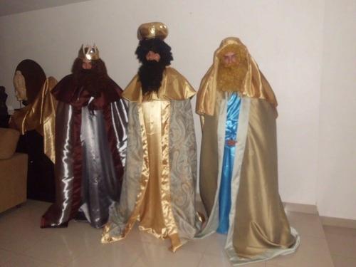 Reyes Magos Disfraz Tres Piezas Por $ 7,500.00 Nvb