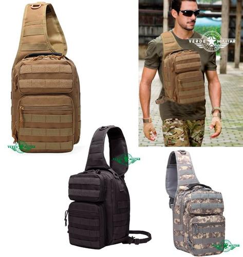 Mochila Tactica Militar Pechera Guarda Arma Pistola Maricone