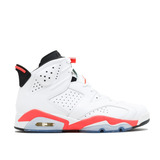 Tenis Air Jordan 6 (vi) Retro  White Infrared   Infantil