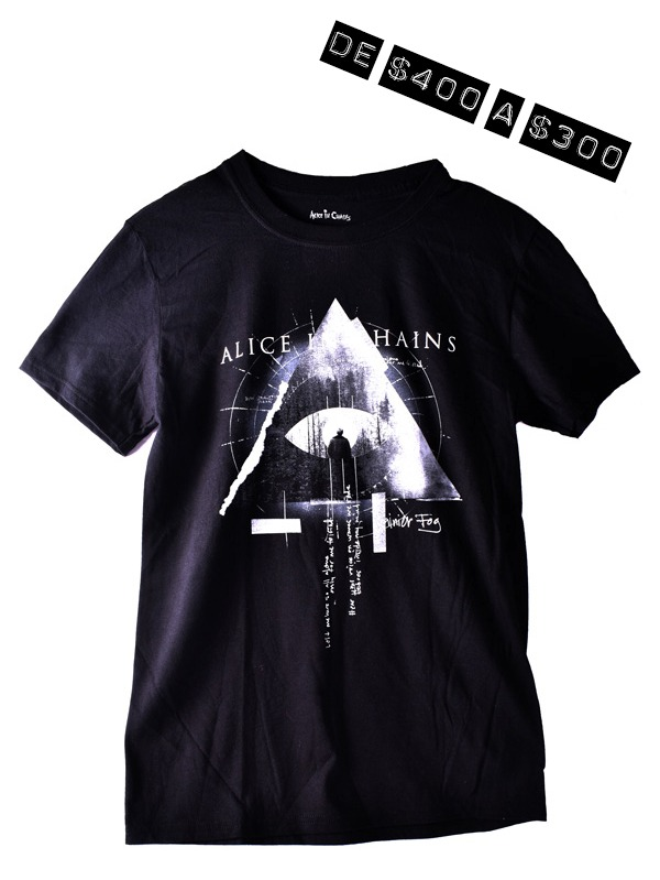 Playera Oficial Alice in Chains