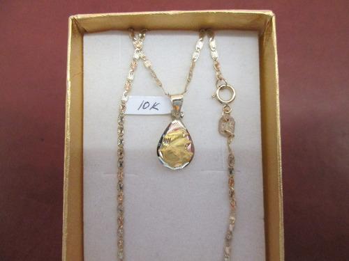 Precio de cadena de oro con medalla