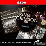 CD Oficial KING CRIMSON HEROES