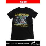 Playera oficial GREEN DAY BLACK TEE