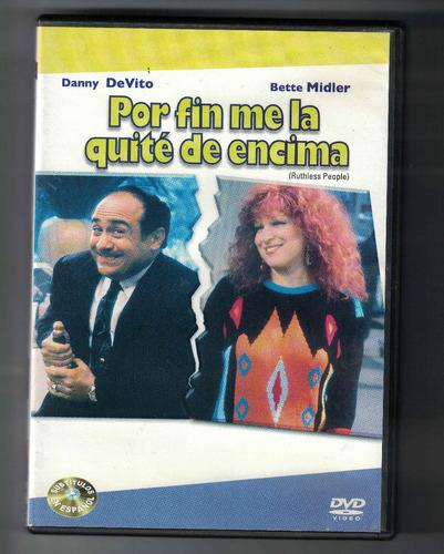 Dvd Por Fin Me La Quite De Encima Bette Midler Danny De Vito