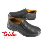 Calzado Caballero Negro Flexi 70302 Casual Confort Mocasín