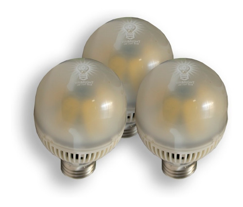 Viribright 3-Pack Led Spotlights 5w / e26 / 110-120v