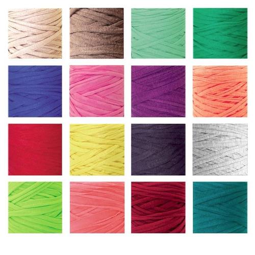 3bfc861d7166 Trapillo Para Tejer Collar Tapete Bisuteria Lote 50 Mts en venta en ...