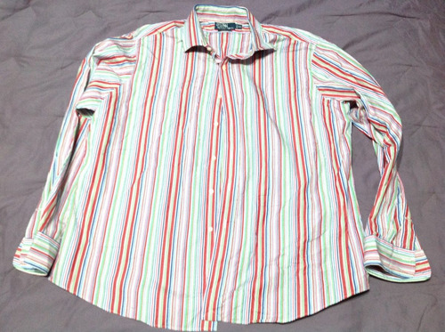 Camisa Ralph Lauren Talla Xxl 2xl Rayas