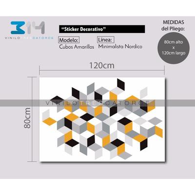 Vinilo decorativo minimalista 04 sticker gigante para for Vinilo gigante pared