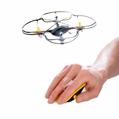 Drone Cuadricoptero Operado Con Mano Bateria Recargable