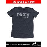 Playera Oficial ROXY Gris