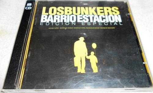 Cd + Dvd Los Bunkers / Barrio Estacion / Edicion Especial