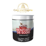 Benzoato de sodio 100g - Ma Baker and Chef