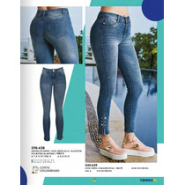 dccd16ff48 Comprar Pantalon jeans Dama Terra Colombiano 019-438 Pv Jk-2019 Sexy