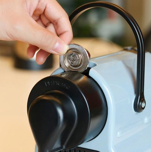Capsula Recargable Rellenable Acero Inoxidable Cafetera Nesp - Ecart