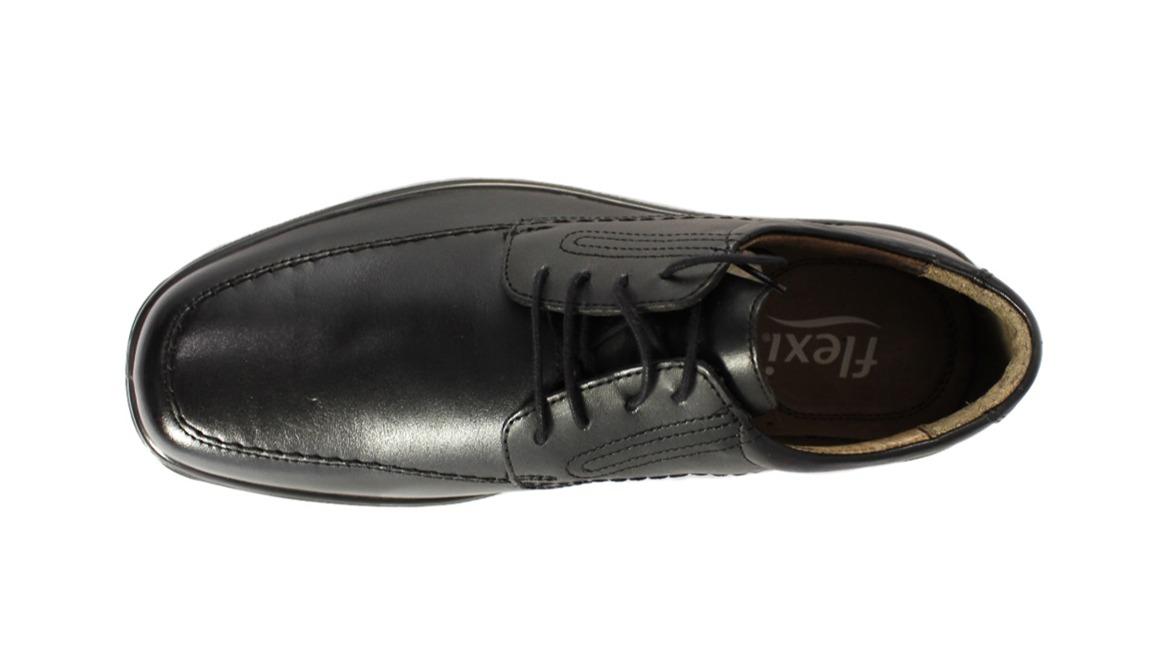 27d02409 Calzado Caballero Negro Flexi 73202 Vestir Confort Agujeta | Triche