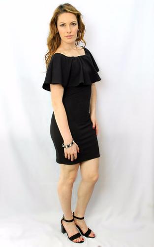 Vestido Campesino Negro Holly Fashion Crystal En Venta En