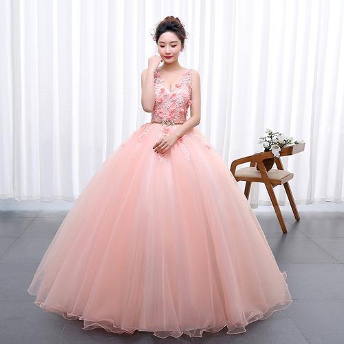 7ab5fbd9e2 Vestido Xv Años Quinceañera Princesa Flores Tul Y Encajes en venta ...