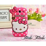 Funda / Botarga de Hello Kitty para LG Magna