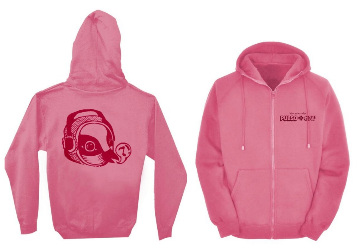 HOODIE BAG ROSA PULSO GNP