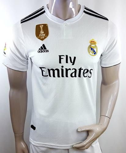 Playera + Short Real Madrid 2018 Local Y Visitante Remate