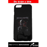 Protector Oficial MEGADETH Iphone 6