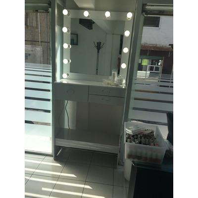 Tocador para maquillaje con luz 5 en mercado libre - Tocador con espejo y luces ...