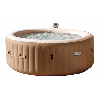 Jacuzzi burbuja portatil inflable 4 personas alberca for Medidas jacuzzi 4 personas