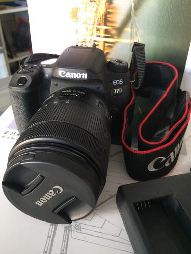 Canon 77d Solo Cuerpo Oferta !semi Nueva