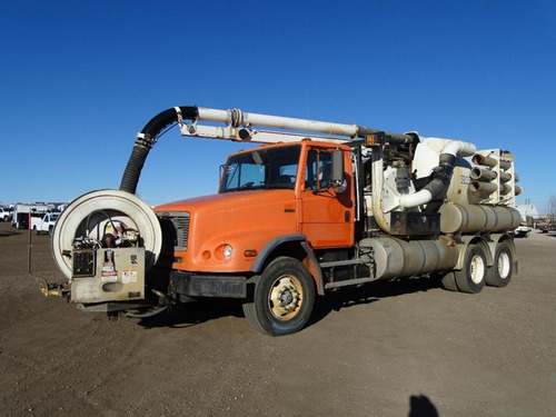 Camion De Succion Tipo Vactor 2100 En Un Freightliner  2000