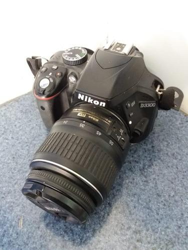 Camara Profesional Nikon D3300 Excelente Estado