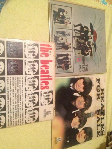 The Beatles Vol.2 & Vol.3 & For Sale Precio X Cada Disco
